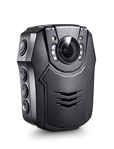 BOBLOV PD50 Body Camera with Audio 1296P Body Worn Mounted Camera 32G Lightweight Smart Fast Charging Night Vision Body Cams 150 Degree Angle Playback 5-7Hours Recording