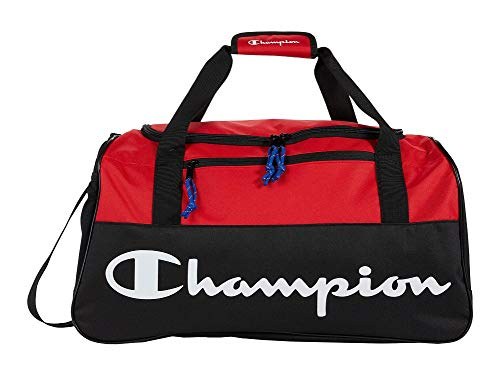 Champion Duffel Bag, Red, One Size