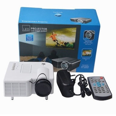 Led Projector Lcd Image System Perfect For Dvds,Pictures And More