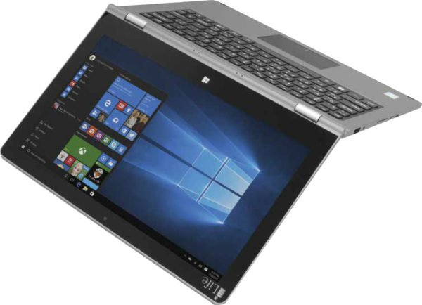 ILife ZedNote Convertible Touch Laptop – Atom 1.8GHz 2GB 64GB Shared Win10.1 14inch HD Silver