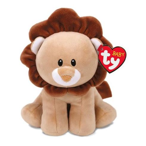TY Baby Lion Bouncer Brown Regular 7in