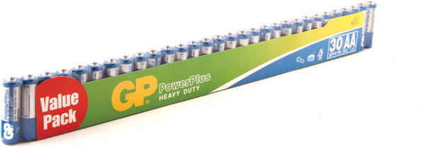 GP 15C2VS30 AA Power Plus Battery 30pcs