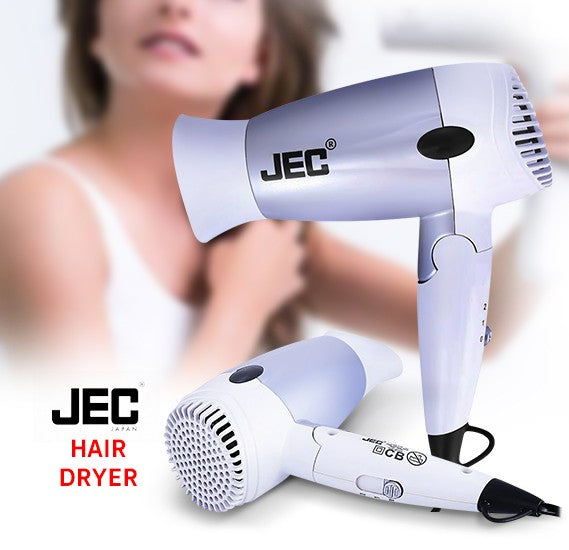 JEC Hair Dryer - HD-1351, White