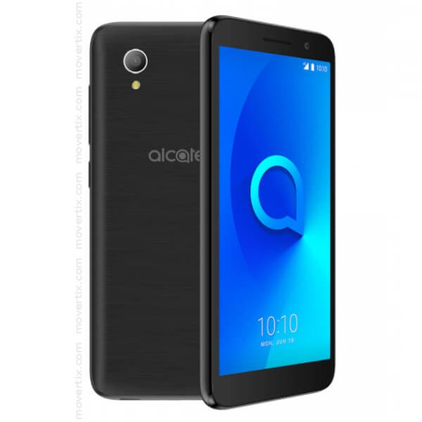 ALCATEL 1, 5033D, Metallic Black - 4G