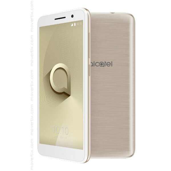 ALCATEL 1, 5033D, Metallic Gold -4G