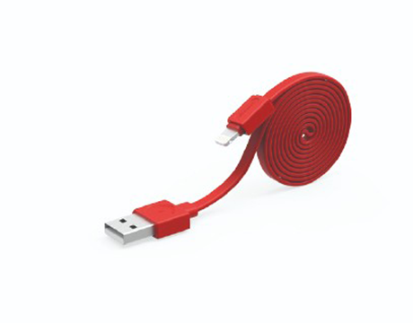 Allocacoc USBcable microUSB Basic; RED