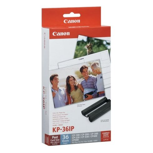 Canon KP36 Glossy Ink Paper 36 Sheets