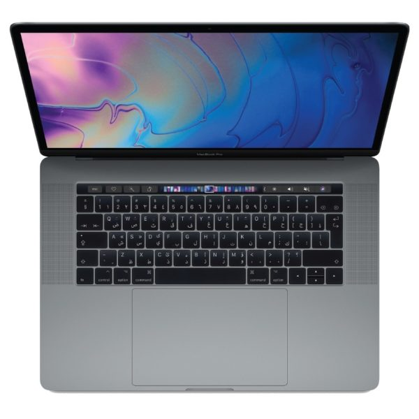 MacBook Pro 15 Touch Bar & Touch ID 2018 - Core i7 2.6GHz 16GB 512GB 4GB 15.4inch Space Grey Arabic