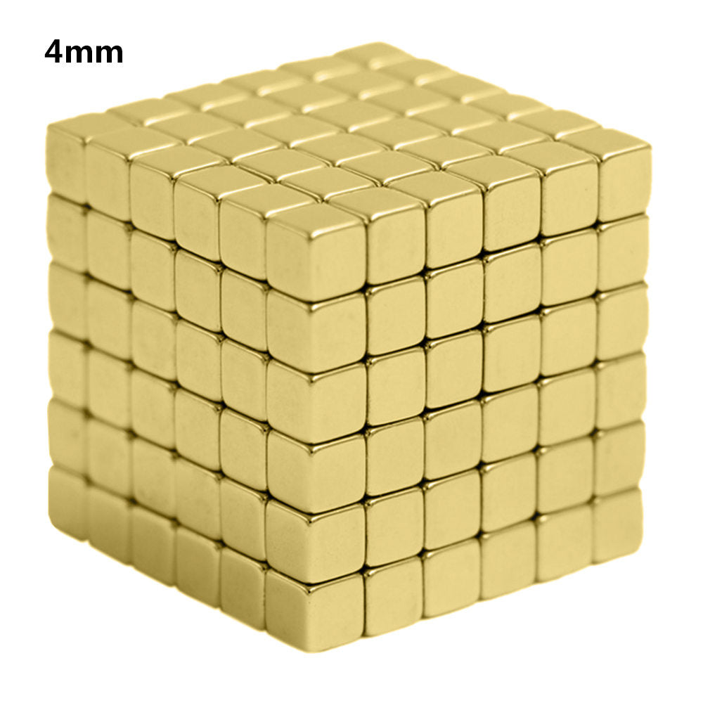 4mm 216Pcs Magnetic Blocks Toys Magnet Block Magic Strong Construction Toy Creative Neodymium Magnets Magneticas Gifts