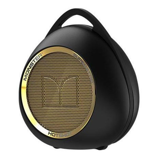 Monster Superstar Hotshot Bluetooth Speaker Black/Gold