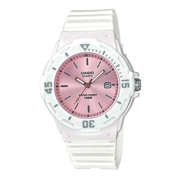 Casio Analog Ladies Watch, LRW-200H-4E3VDF