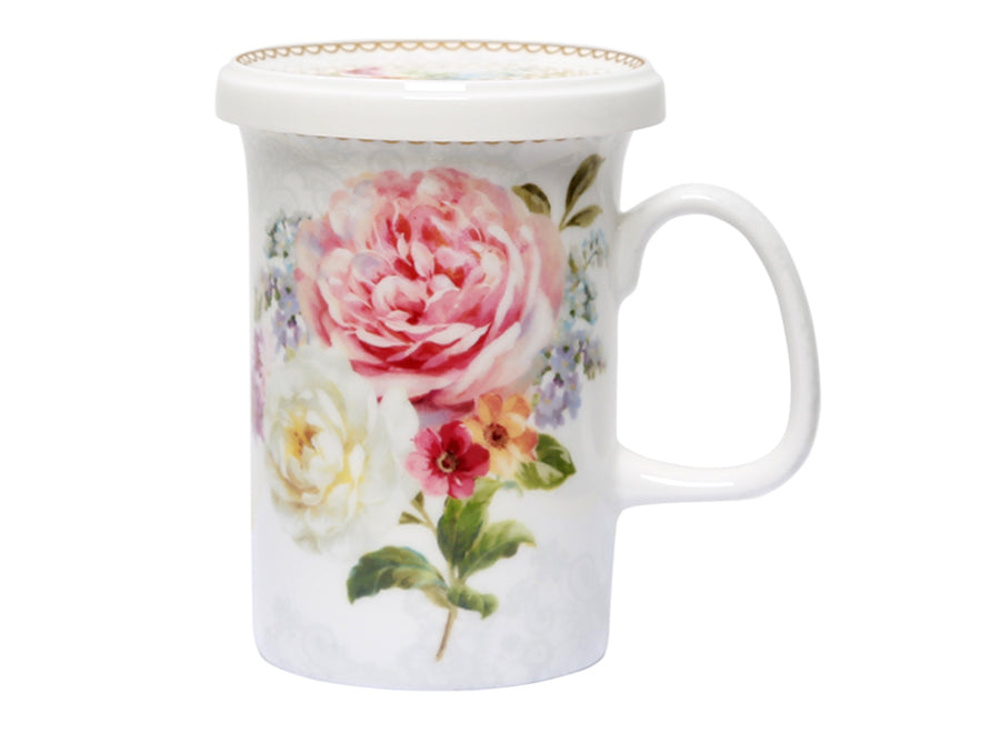 ROMANTIC LACE GIFT SET MUG LID
