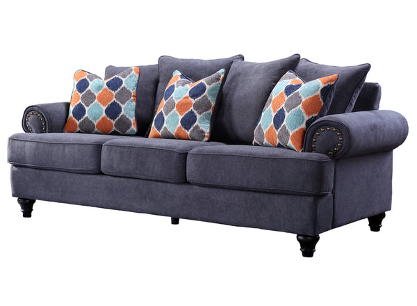 CHARLSTON 3SEATER/BLUE