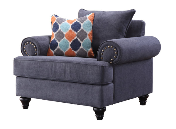 CHARLSTON 1SEATER/BLUE