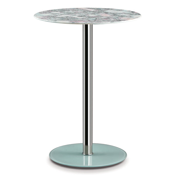 SAMANTHA BAR TABLE/MARBLE TOP