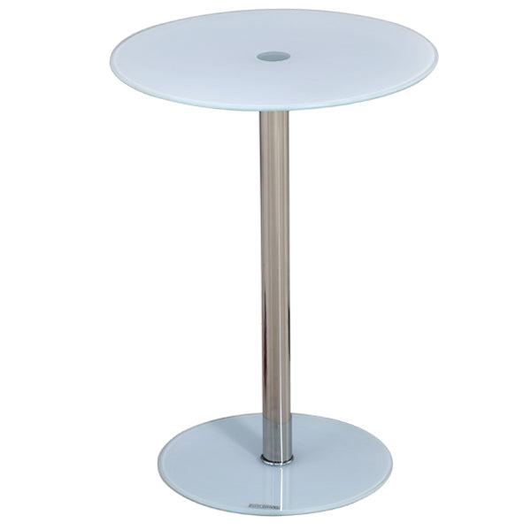 SAMANTHA BAR TABLE/SUP WHT TOP