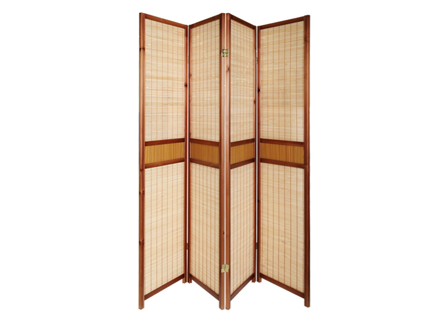 WOODEN SCREEN 180X4PN CHERRY