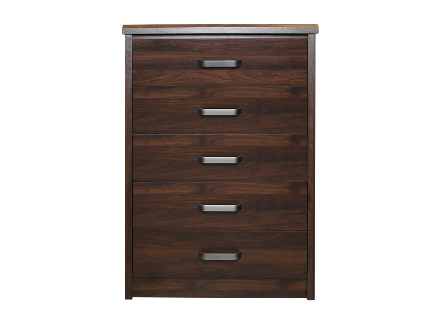 STACEY 5DRWR CHEST/WENGE