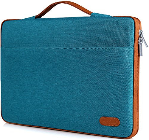 "ProCase 14-15.6 Inch Laptop Sleeve Case Bag for 2019 MacBook Pro 16, Carrying BriefCase Handbag for 14"" 15"" 15.6"" Samsung Sony ASUS Acer Lenovo Dell XPS HP Toshiba Chromebook -Teal"