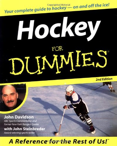 Hockey For Dummies Paperback - 28 سبتمبر 2000