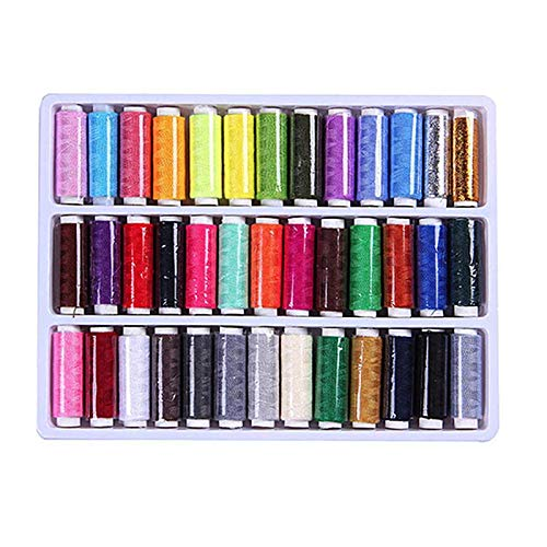 36Pcs Colorful Cotton Strong Sewing Thread Set for Costrura Durable Sewing Supplies For Hand Machines