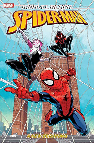 Marvel Action: Spider-Man New Beginnings (Book One): غلاف ورقي واحد - مصور ، 1 يوليو 2