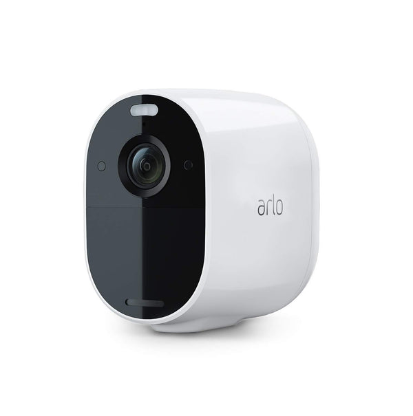 Arlo Essential Spotlight Security Camera CCTV system | Wireless WiFi, 1080p Video, Colour Night Vision, 2-Way Audio, 6-Month Battery Life, Motion Activated, Direct to WiFi, No Hub Needed, VMC2030