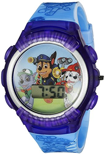 نيكلوديون للأطفال PAW4039 Paw Patrol Digital Display Quartz Blue Watch