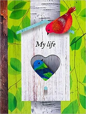 MY LIFE DIY / TABBED NOTEBOOKS: الطيور