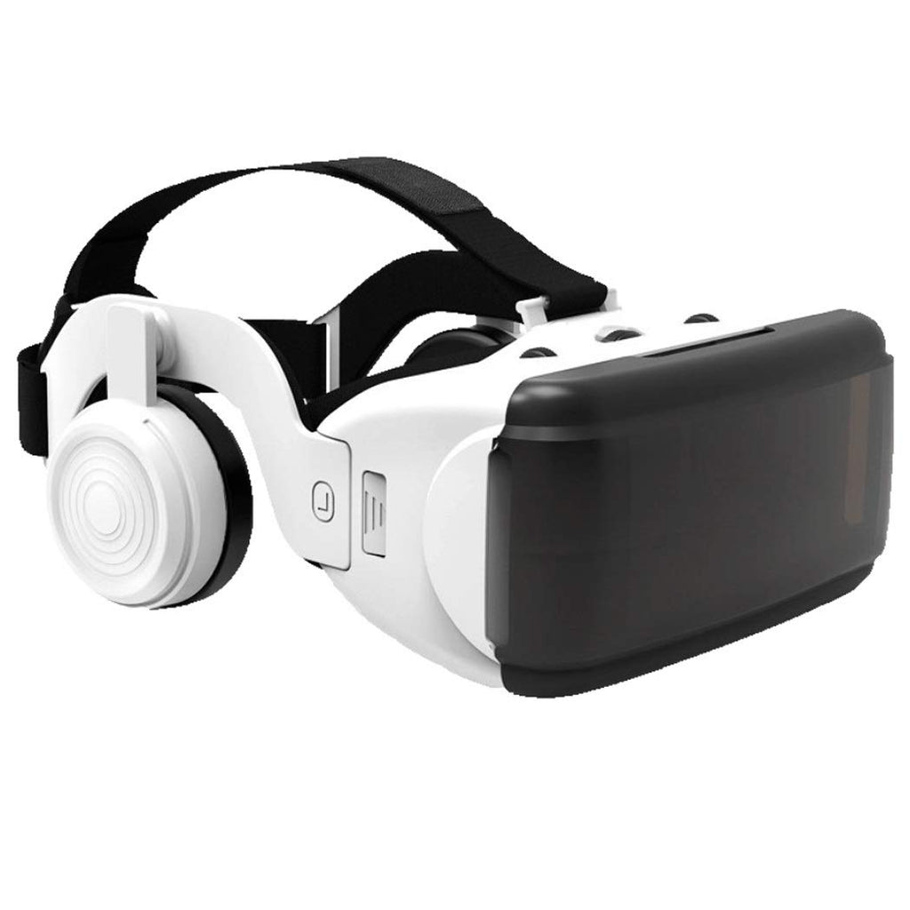 HJSW VR Headsets VR Goggles Glasses For 3D VR Movies Video Games For iPhone 12 / Pro / Max / Mini / 11 / X / Xs / 8/7 لهواتف سامسونج وأندرويد ، W / 4.7-6.8in ، Z016MK