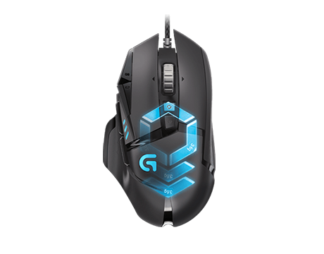 Logitech Gaming Mouse Wired G502