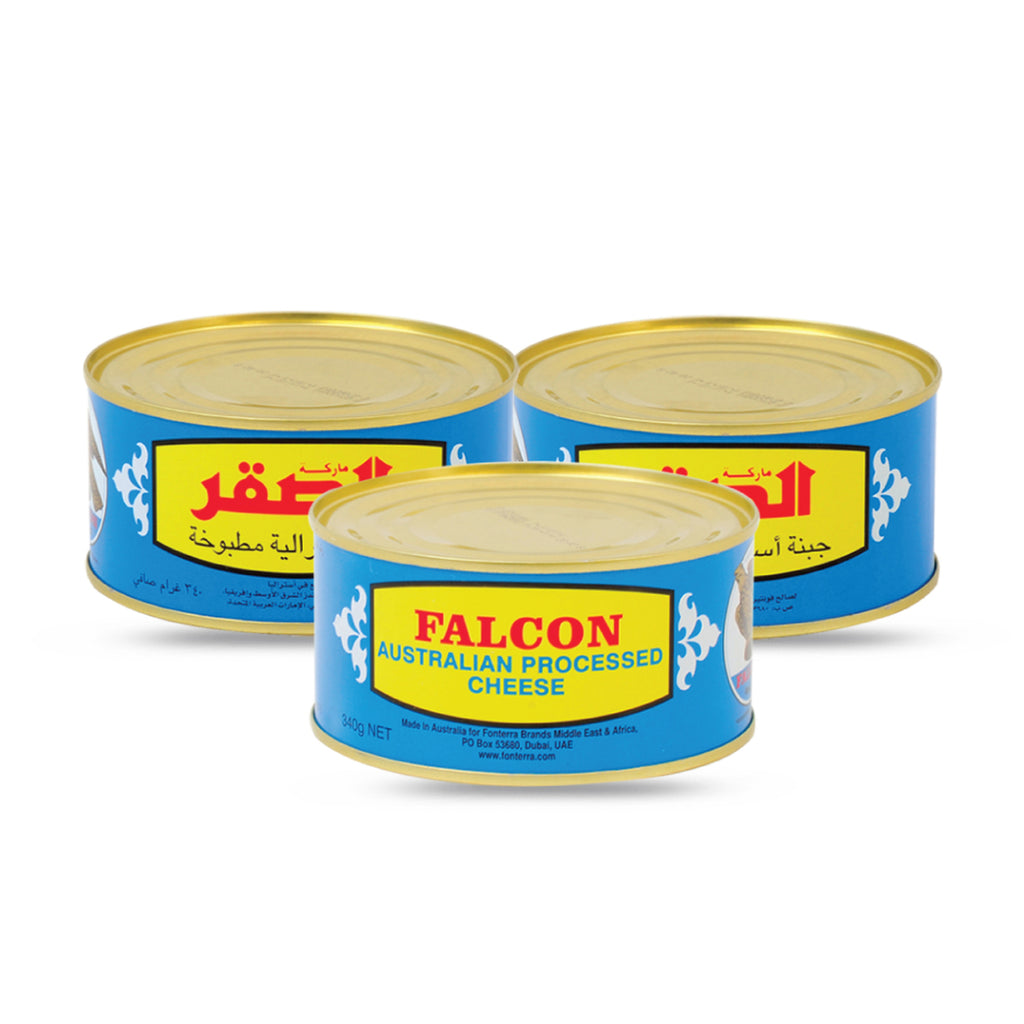 Falcon Cheddar Cheese Tin 3 x 340g