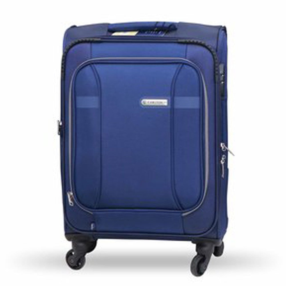 Carlton Luggage Aston Spinner Cabin Trolley 78cm Blue ASTON78BU