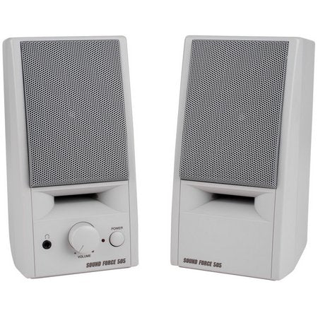 Sound Force 505 Powered Computer Speaker Pair