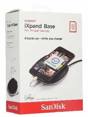 Sandisk Ixpand Base 32Gb For Iphone Backup It Backs Up-While You Change