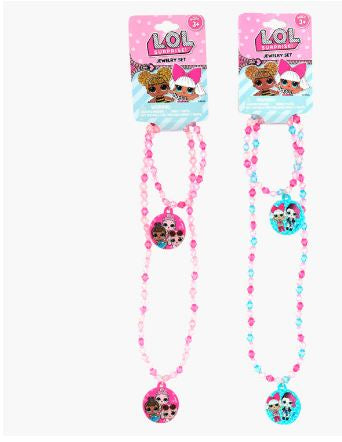 LOL Surprise Necklace and Bracelet Set