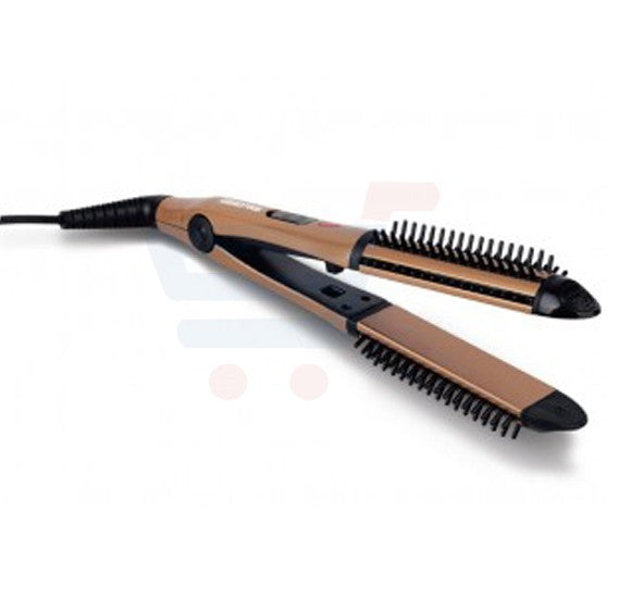 Geepas 3 In 1 Hair Straightener Curler & Comb - GH8670