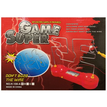 Don't Buzz The Wire - Super Game