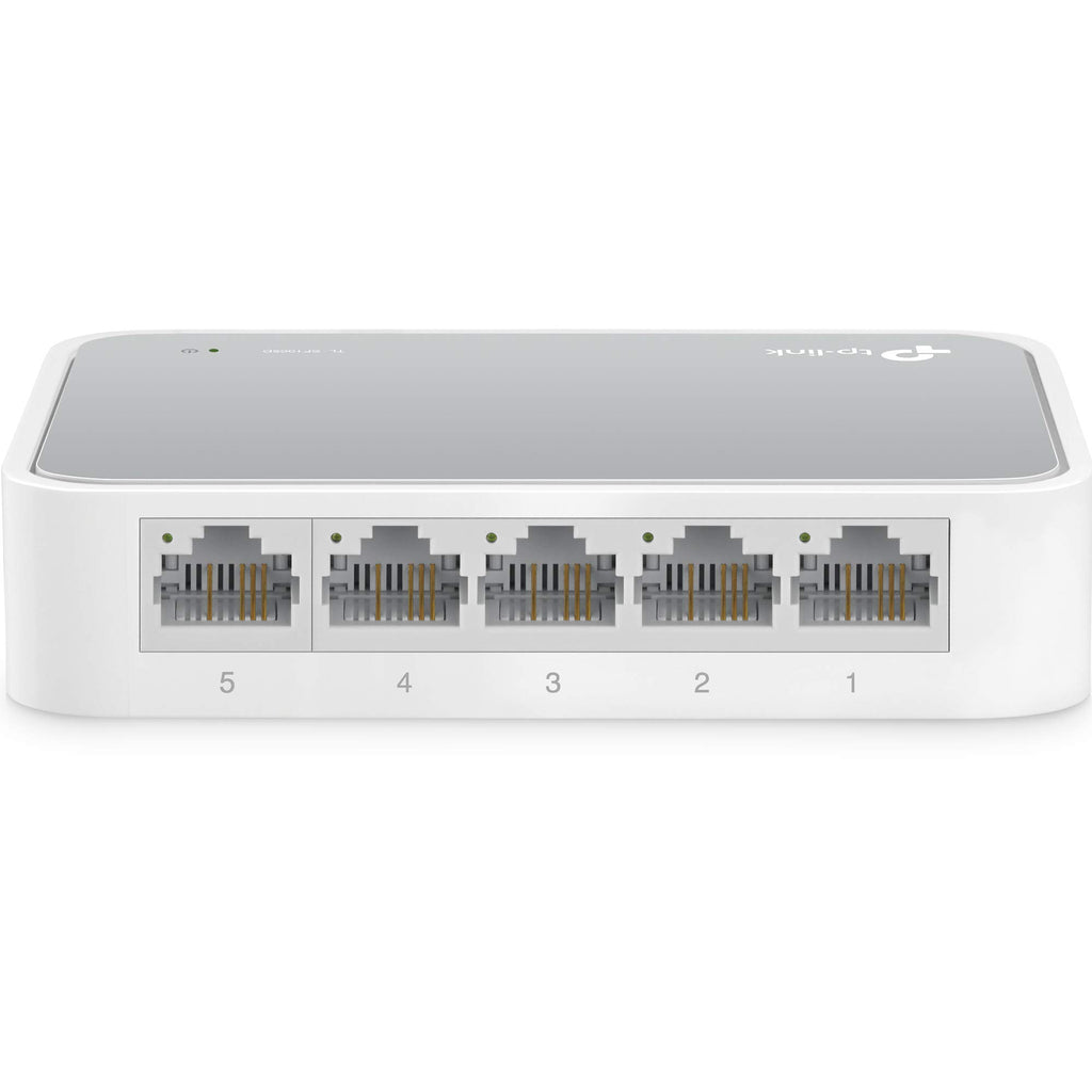 Tp-Link 5-Port 10 / 100MBPS Desktop Switch [Tl-Sf1005D]