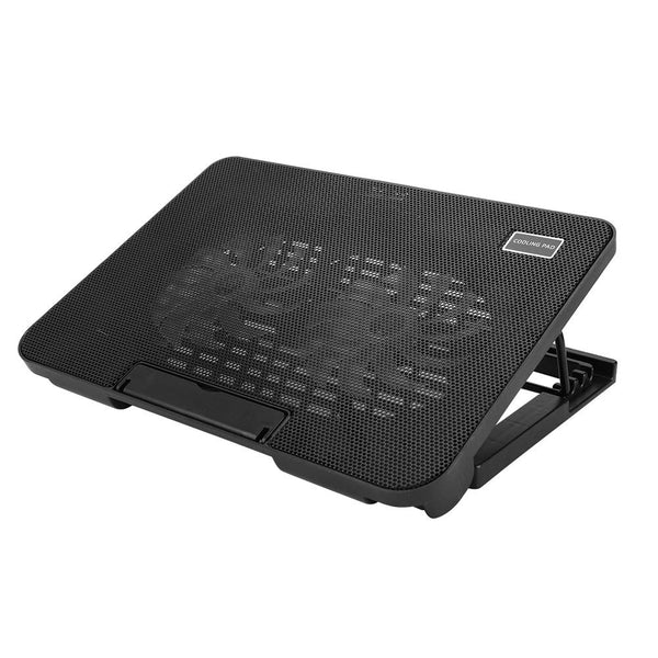 cigemay Laptop Cooler Cooling Pad, Laptop Cooler With Multi-angle Adjustable Bracket, 2 Mute Fans