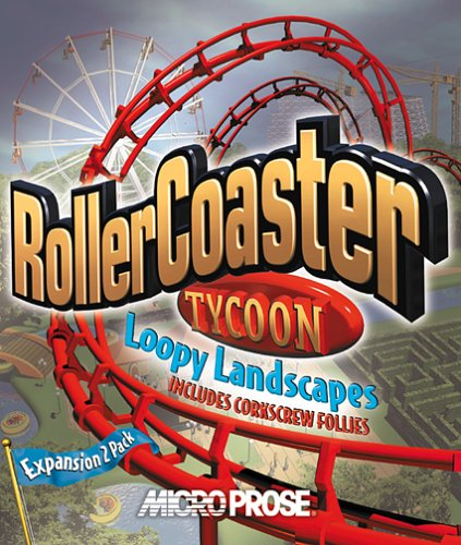 Roller Coaster Tycoon Loopy Landscapes (Jewel Case) - الكمبيوتر الشخصي