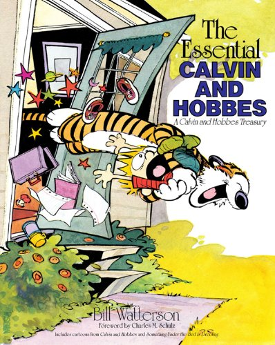The Essential Calvin and Hobbes: A Calvin and Hobbes Treasury Kindle Edition (إصدار كالفن وهوبز تريزوري كيندل)