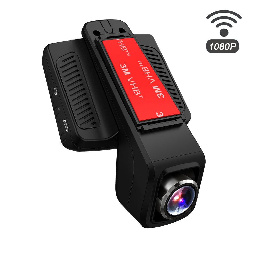 """TOGUARD Dash Cam، WiFi Dashboard Camera، Stealth Full HD 1080P Dash Camera، 170 Degree Wide Angle Lens، 2.45 """"IPS LCD، Car DVR Road Video Recorder، Loop Recording، HDR، Parking Monitor"""