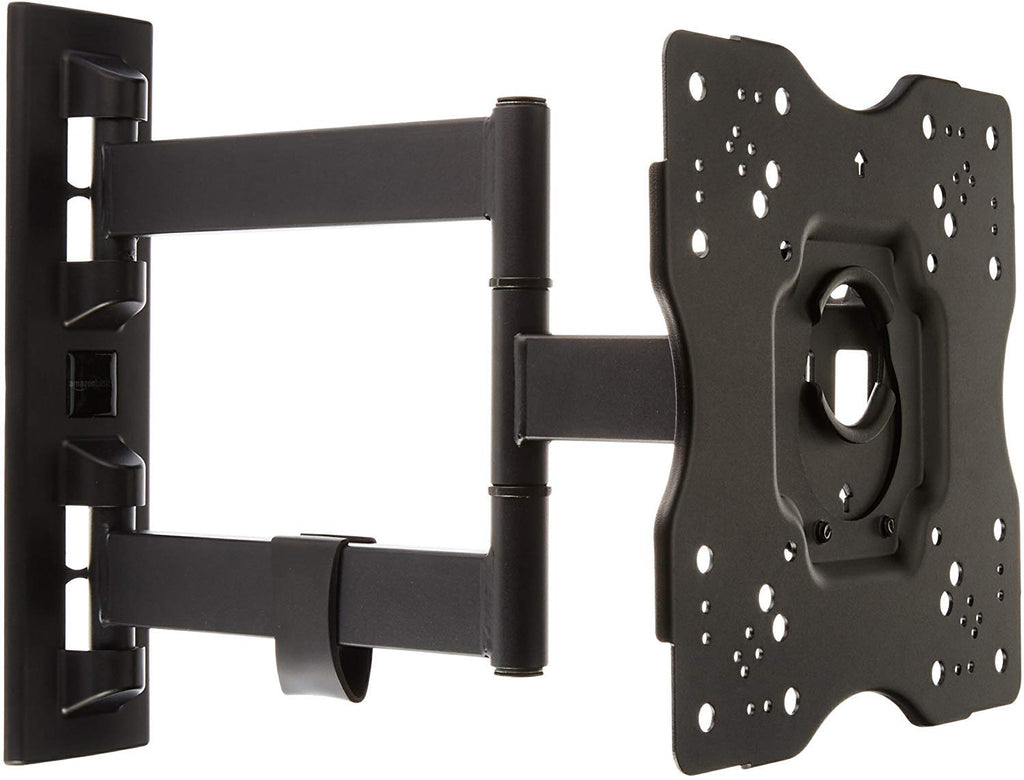 Amazon Basics Heavy-Duty, Full Motion Articulating TV Wall Mount for 22-inch to 55-inch LED, LCD, Flat Screen TVs