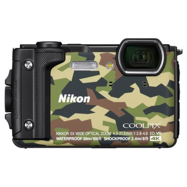 Nikon Coolpix W300 Digital Camera Camouflage