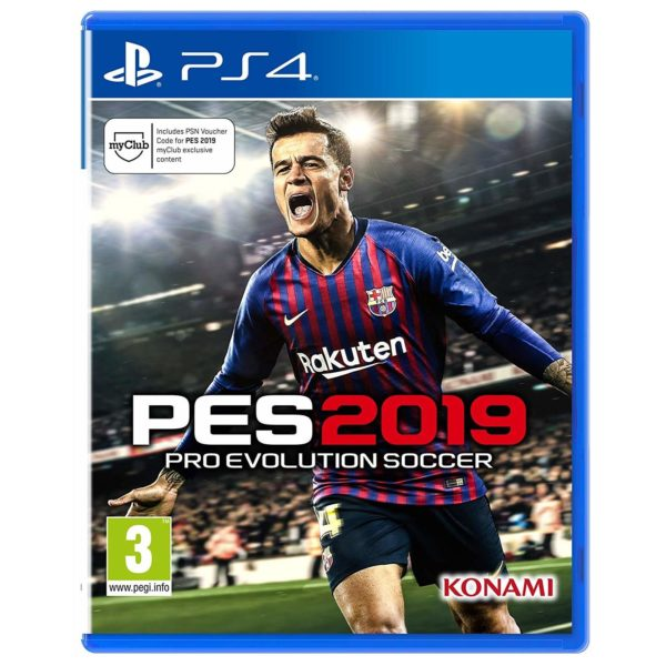 PlayStation Games - PS4 PES 2019 Pro Evolution Soccer Game | Buy online in Bahrain