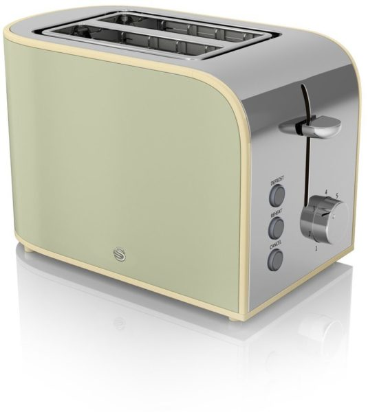 Swan Retro Toaster ST17020GN