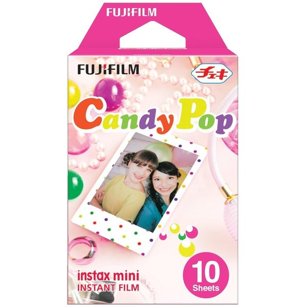 Fujifilm Instax Mini CANDY POP Instant Films 10 Sheets Pack