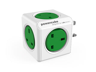 Allocacoc PowerCube Original UK ; GREEN