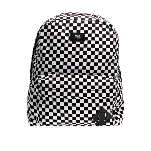 Old Skool III Backpack Black-White Check